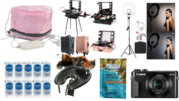 MOBILE HAIRDRESSERS MUST HAVE| MOBILE HAIRDRESSING PRODUCTS, TOOLS AND EQUIPMENT/LINKS