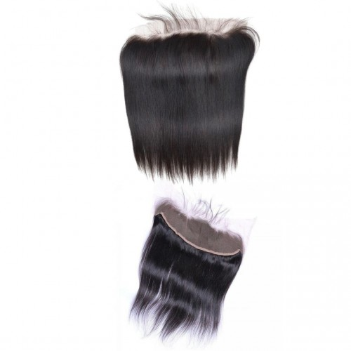 MAHB Luxury Virgin Peruvian Straight Human Hair  Lace Frontal